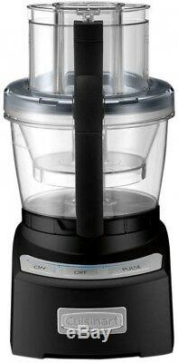12-Cup Food Processor BPA Free with Electronic Touchpad Controls, Stainless/Black