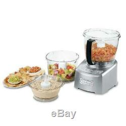 14-Cup Large Food Processor Machine Stainless Steel Adjustable Slicing Disc NEW