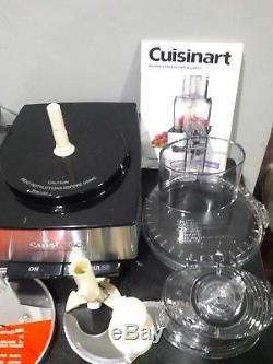Barely Used Cuisinart Dfp-14bcny Brushed Stainless Steel 14-cup Food Processor