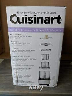 Brand New Cuisinart DFP-14BCNY 14-Cup Food Processor, Brushed Stainless Steel