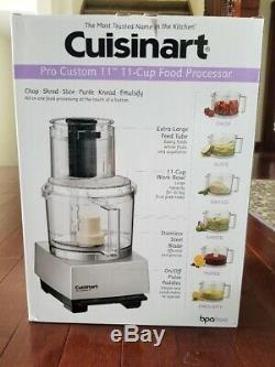 Brand New In Box Cuisinart Pro Custom 11 Cup Food Processor Model# DLC-8SBCY