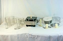 CUISINART Custom 14 DFP-14BCN 14-Cup Food Processor Brushed Stainless + Extras