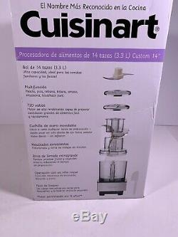 CUISINART DFP-14BCNY 14 Cup Food Processor, Brushed Stainless Steel