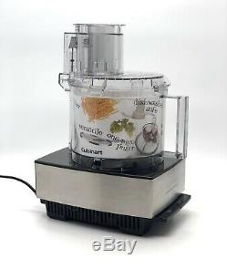 CUISINART DFP-14BCNY 14 Cup Food Processor Brushed Stainless Steel Powerful 720W