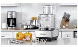 CUISINART DFP-14BCNY 14 Cup Food Processor, Brushed Stainless Steel, Recipe Book