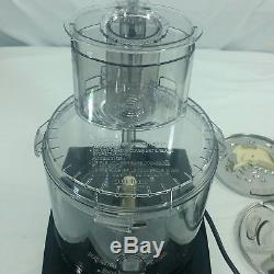 CUISINART DFP-14BCNY 14-Cup Food Processor Brushed Stainless Steel never USED