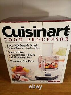 CUISINART DLC 5 cup Food Processor, new open box, complete, works