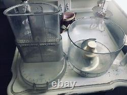 CUISINART DLC-X 20 Cup COMMERCIAL FOOD PROCESSOR Tested Working Made In Japan