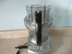 CUISINART ELITE COLLECTION 12 Cup FOOD PROCESSOR FP-12 Used Twice