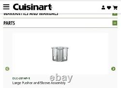 Cuisanart Limited Edition Metal 14 Cup Food Processor MP-14N, FREE SHIPPING