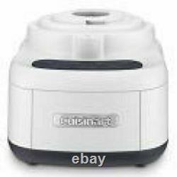Cuisinart 11-Cup Food Processor BPA Free Rubberized Touchpad Pulse Control White