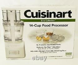 Cuisinart 14 Cup Food Processor 2.0 Elite Collection NEW IN BOX