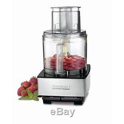 Cuisinart 14-Cup Food Processor, Brushed Stainless Steel with Spice Mill
