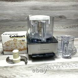 Cuisinart 14 cup Food Processor with whisk Attachment and Blade Custom 14