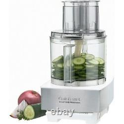 Cuisinart 720 Watt 14-Cup Food Processor Brushed Stainless Steel White
