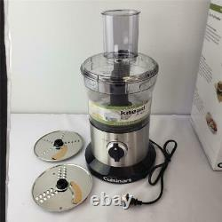 -= Cuisinart 8-Cup Food Processor Model DLC-6 Large Capacity Stainless/ Black