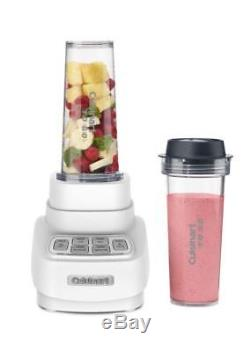 Cuisinart BFP-650 Velocity 1 HP 2in-1 Blender and Food Processor White