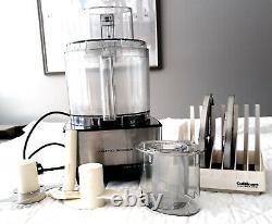 Cuisinart Custom 14 Cup Food Processor DFP-14BCN Full Size with Discs and Rack