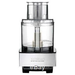 Cuisinart Custom 14 Cup Food Processor Slice Stainless Steel Kitchen Smoothie