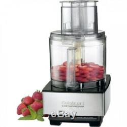 Cuisinart Custom DFP-14BCWNY 14 Cup Food Processor, White and Stainless Steel