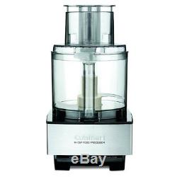 Cuisinart Custom Professional Food Processor 14 Cups Stainless Steel Silver New