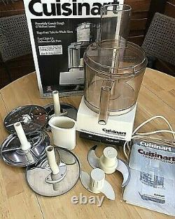 Cuisinart DFP-11 Deluxe DLC-7 Pro Food Processor 11cup. With Accessories