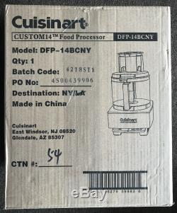 Cuisinart DFP-14BCNY 14-Cup 720W Food Processor Brushed Stainless Steel FREESHIP