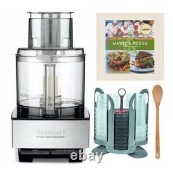 Cuisinart DFP-14BCNY 14 Cup Food Processor Brushed Stainless Bundle