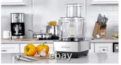 Cuisinart DFP-14BCNY 14-Cup Food Processor, Brushed Stainless Steel Silver