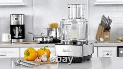 Cuisinart DFP-14BCNY 14-Cup Food Processor, Brushed Stainless Steel Silver New