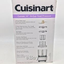 Cuisinart DFP-14BCNY Custom 14 Cup Food Processor Brushed Stainless Silver