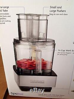 Cuisinart DFP-14BCN 14-Cup Food Processor, Brand NeW Stainless Steel MAKE OFFER