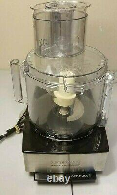 Cuisinart DFP-14BCN 14-Cup Food Processor, Brushed Stainless Steel Silver
