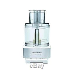 Cuisinart DFP-14BCWNY 14-Cup Food Processor Brushed Stainless Steel White