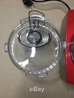 Cuisinart DFP-14NRY Custom 14 Food Processor, Stainless Steel, Red See Details