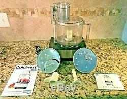 Cuisinart DFP-14N Series 14 Cup Food Processor Stainless Steel Silver FREE S/H