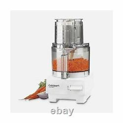 Cuisinart DLC 10SYP1 Kitchen Food Processor 7 Cup Stainless Steel Plastic White