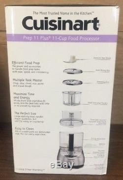 Cuisinart DLC-2011CHBY Prep 11 Plus 11-Cup Food Processor (Brushed Stainless)