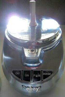 Cuisinart DLC-2014CHB 14-Cup Food Processor Brushed Stainless Very Excellent
