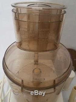 Cuisinart DLC-7 Food Processor with attachments, WORKS GREAT