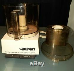 Cuisinart DLC-7 Super Pro 14 Cup Food Processor Motor Base + lid! MADE IN JAPAN