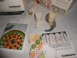 Cuisinart DLC-7 Super Pro Food Processor Made in Japan with NEW Discs