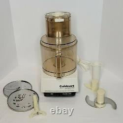 Cuisinart DLC-7 Super Pro Food Processor with Attachments Made in Japan Tested
