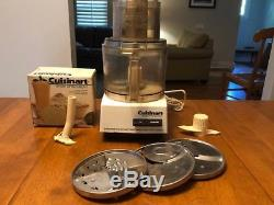 Cuisinart DLC-8F Food Processor With DLC-855 Whisk Attachment Made in Japan