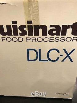 Cuisinart DLC-X 20-Cup Food Processor With4 Discs Made in Japan