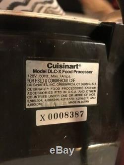Cuisinart DLC-X Food Processor Base Motor Only Tested Great Buy
