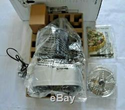 Cuisinart Easy Prep Pro 2 Bowl Food Processor With 1.9L Capacity Stainle