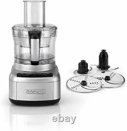 Cuisinart Easy Prep Pro 2 Bowl Food Processor With 1.9L Capacity Stainless S