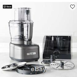 Cuisinart Elemental 13 Cup Food Processor Stainless Steel Blades