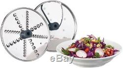 Cuisinart Elemental 13 Cup Food Processor with Spiralizer & Accessory Storage Case
